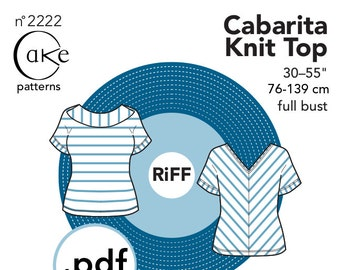 pdf Cabarita Knit Top Cake Patterns RiFF Nº2222