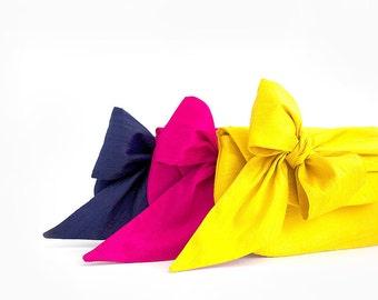 Navy Bridesmaid Clutch. Yellow Bridesmaid Clutch. Fuchsia Bridesmaid Clutch. Pink Bridesmaid Clutch. Personalized Bridesmaid Clutch