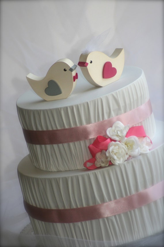 love bird wedding cake topper birds wedding cake topper rustic wedding by 5607
