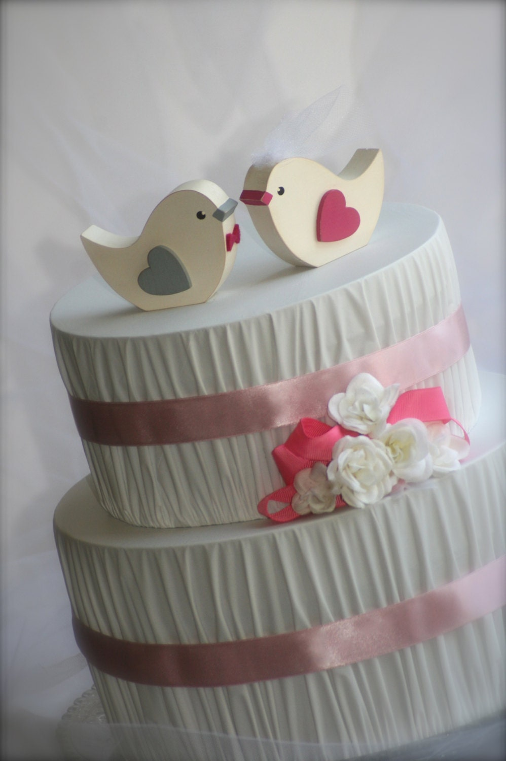 wedding cake with birds birds wedding cake topper rustic wedding by 26824
