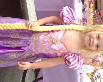 Rapunzel Braid, Rapunzel Costume, Tangled Costume, Rapunzel Party, Rapunzel Dress Up, Princess Dress Up, Rapunzel Wig