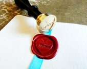 "Exclusive MERCI ""Thank You from My Heart"" Gold Tone Plated Wax Seal Stamper - LAST ONE"