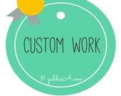 Custom Listing for Ali C