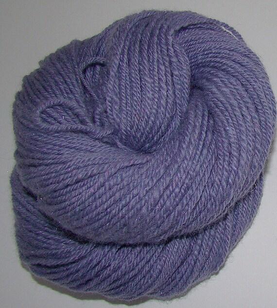 Slate - 70/30 Merino/Silk Handspun Yarn 175yds