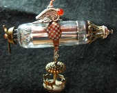 Master Hoolihan's Children's Party Dirigible Steampunk Pendant or Ornament