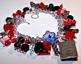DAME AGATHA Mystery Charm Bracelet