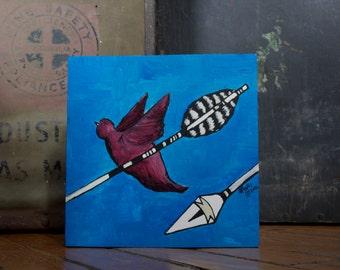 "Original Painting - ""Sky Bird"""