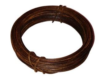 30' RUSTY WIRE SPOOL Rustic Bendable Decorative