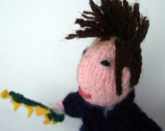 Morrissey Style Finger puppet