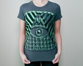 Double Pyramid Evil Eye Tee (women's fit)