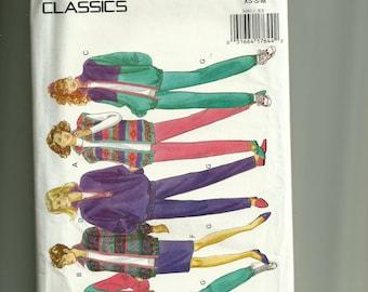 Butterick Misses' Jacket, Vest, Skirt, and Pants Pattern 3081