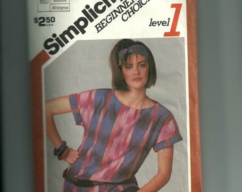 Simplicity Misses' Pullover Top Pattern 6516