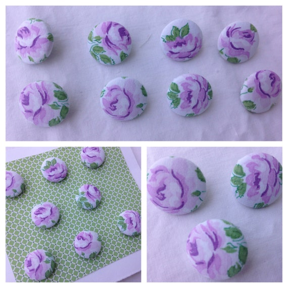 Push Pin Set-Lavender Roses