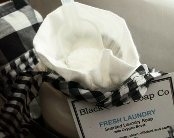 Laundry Soap try CLEAN COTTON . Black Kettle