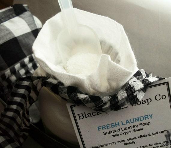 Laundry Soap try CLEAN COTTON . Black Kettle