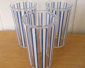 vintage striped glasses