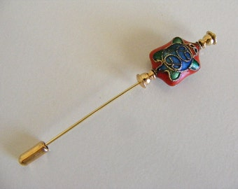 Cloisonne Turtle Stick Pin.........Lot 133