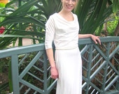 SALE 187 Organic Dahlia Gown Size S/M