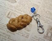 Challah Bread Charmer - Handmade Charm from My Bead Garden