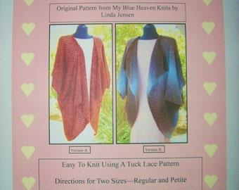 Origami Jacket - Machine Knit Pattern