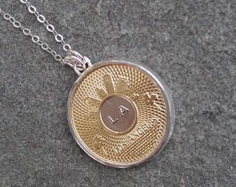 Los Angeles  Token Necklace