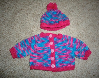 Handknitted American Girl Doll Sweater