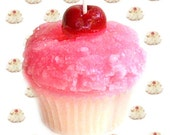 Almond Macaroon Cupcake Candle Bakery Scent