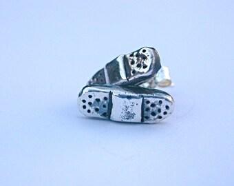 Band Aid Stud Earrings