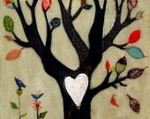 Forever Falling Tree Customizable Print