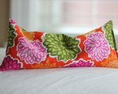 HALF PRICE Lavender Eye Pillow Cotton Fabric Bright Colorful Floral