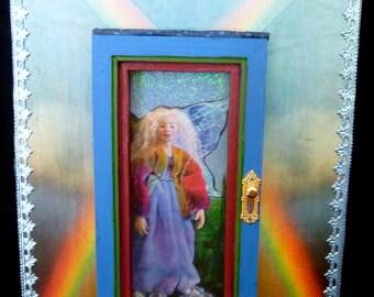 Rainbow-Fairy Door