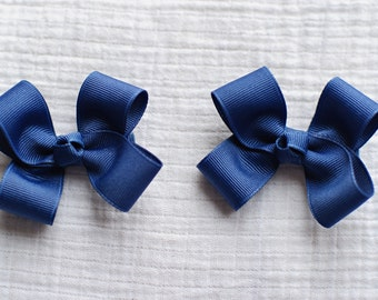 Blue Berry Clippies,Hair Bows,Pigtail Hair Bows,Baby Hair Bows,Toddler Hair Bows,Non Slip Hair Bows,3 Inches Wide,Birthday Party Favors