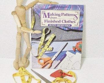 Make Your Own Clothing Patterns | Instruction Book Making Patterns From Finished Clothes
