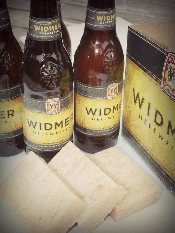 Widmer Hefeweizen Beer Soap (Palm Free)