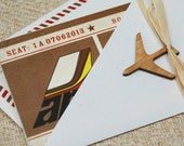 Boarding Pass Pilot Retirement Party Invitation - Design Fee