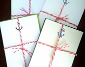 Set of 3 You're My Anchor Notecards