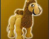 PDF Amigurumi Crochet Pattern - Joe The Camel