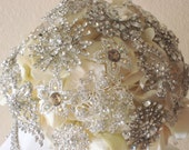 Wedding Rhinestone Broach Bouquet total cost