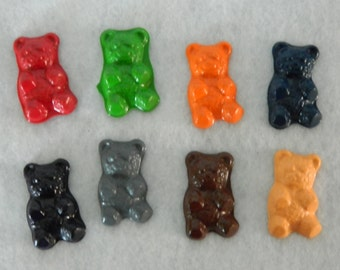 Teddy Bear Crayons Recycled/Upcycled