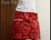 The SUGAR Skirt Instant Download DIY Tutorial PDF Pattern Ebook Sizes 12 months to 12 14 Youth and Women