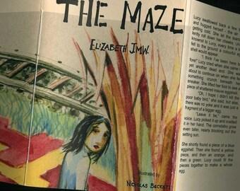 The Maze - Elizabeth JMW - illustrated by Nicholas Beckett