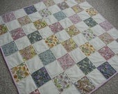 Signature quilt - baby girl - Sale priced