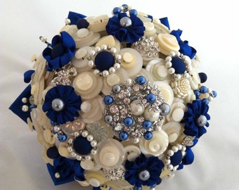 Lillybuds The Diana Button Bouquet