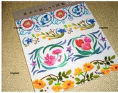 Japanese Craft Pattern Book Embroidery