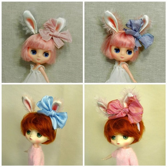 Animal Headband  Made to Order for Middie Blythe and JerryBerry dolls