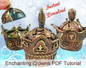 Polymer Clay Enchanting Crown Tutorial PDF INSTANT DOWNLOAD