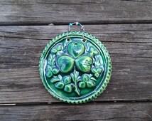 Good Luck Celtic Medallion in Ceramic