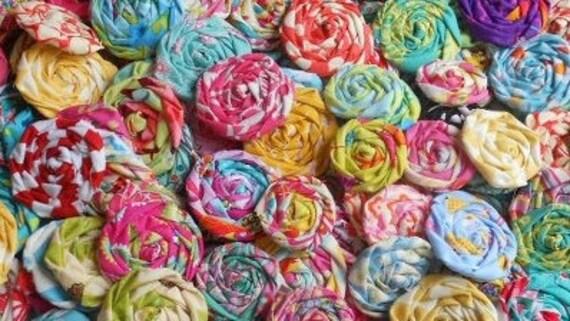 Custom Order 40 Rolled Roses