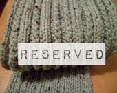 Reserved - Column Scarf
