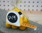 Construction tools favor tags Set of 12 - Construction Party - Dump Truck Birthday - Construction Baby Shower - Boys Tools Party Favor Tags
